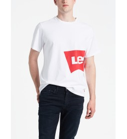"Levi's ""Oversized Graphic Tee"" Oversized Hm White"