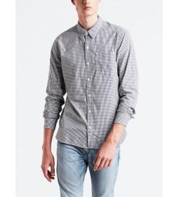 "Levi's ""Sunset 1 Pocket Shirt"" Briggs Dress Blues"