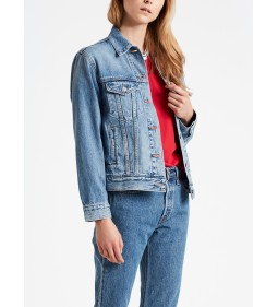 "Levi's ""Ex-Boyfriend Trucker"" Soft As Butter Mid"