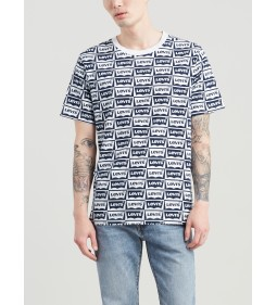 "Levi's ""Oversized Graphic Tee"" Oversized Hm Dress Blues"