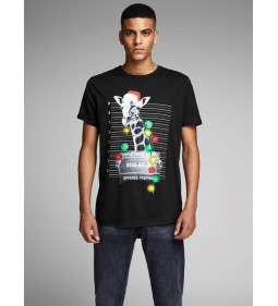 "Jack & Jones ""Jorphotoxmas Tee""  Tap Shoe"