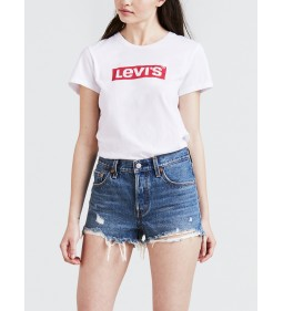 "Levi's ""The Perfect Tee"" New Box Tab Perfect 3 White"