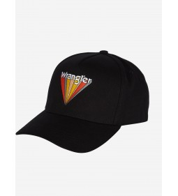"Wrangler ""Artwork Cap"" Black Mid Season Sale"