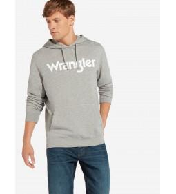 "Wrangler ""Logo"" Mid Grey Mel"