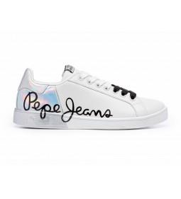 """Pepe Jeans """"Brompton Mania"""" White"""