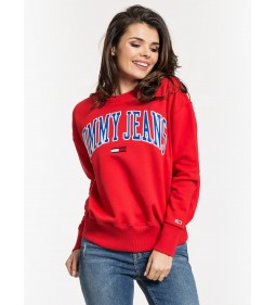 "Tommy Jeans ""Clean Collegiate Flame"" Red"