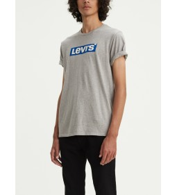"Levi's ""Graphic set-In Neck2"" sonly Boxtab Midtown Heather Grey"