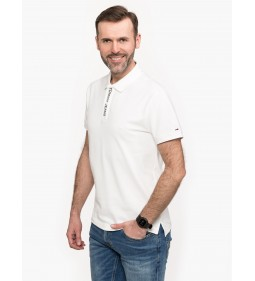 "Tommy Jeans ""Polo Tommy Placket"" White"