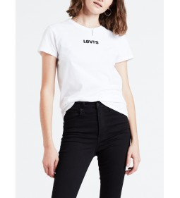 "Levi's "" The Perfect Tee"" Levi's Type Center White"