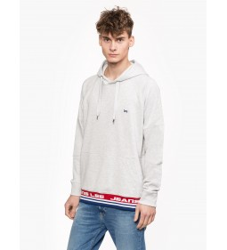 "Lee ""Blocking Hoodie Sharp"" Grey Mele"