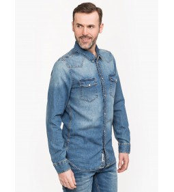 "Tommy Jeans ""Western Denim Shirt""  Blue"