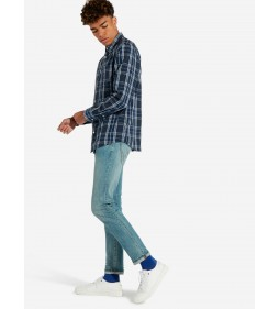 "Wrangler ""Button Down"" Blue Depths"