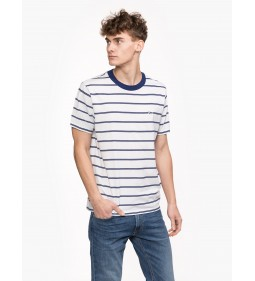 "Lee ""Stripe T Bright"" White"