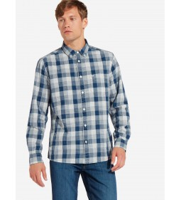 "Wrangler "" Button Down"" Dark Indigo"