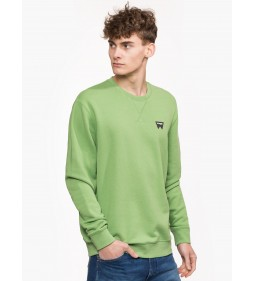 "Wrangler ""Sign Off Sweat Jade"" Green"