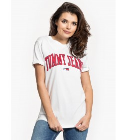 "Tommy Jeans ""Collegiate Logo"" White"