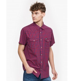 "Wrangler ""Western Shirt' high Risk Red"