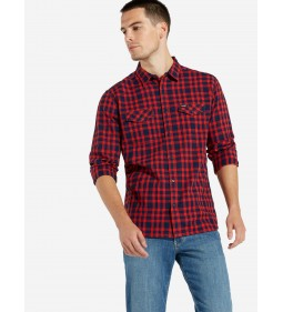 "Wrangler ""Flap Shirt"" High Risk Red"