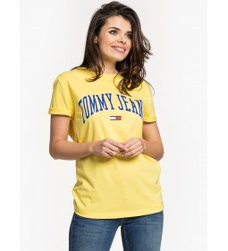 "Tommy Jeans ""Collegiate Logo"" Yellow"