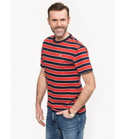 "Tommy Jeans ""Bold Stripe Tee"" Red"