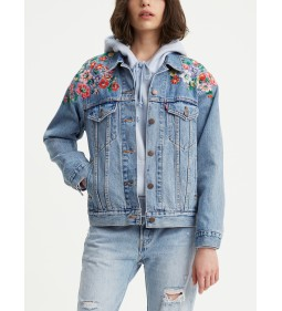 "Levi's ""Ex-Boyfriend Trucker"" Hearts Of Flowers"