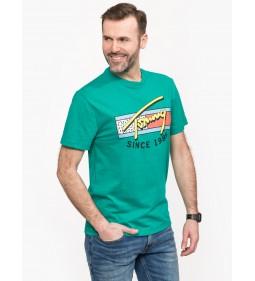 """Tommy Jeans """"Neon Script Tee"""" Green"""
