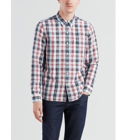 "Levi's ""Sunset 1 Pocket Shirt"" Troost Marshmallow"