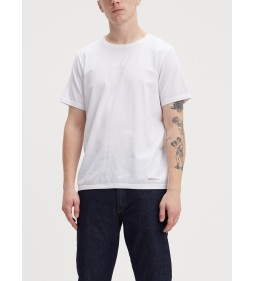 "Levi's ""Lej Tee"" White Engineered Kint Lej"