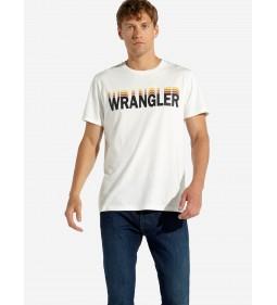 """Wrangler """"Graphic Tee"""" Vintage White"""