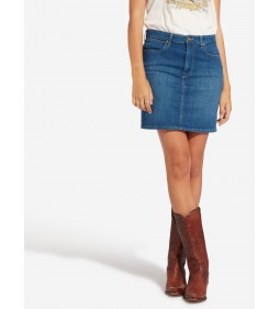 "Wrangler ""Mid Length Skirt"" Blue Mountain"
