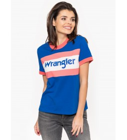 "Wrangler ""80' S Tee"" Turkish Sea"