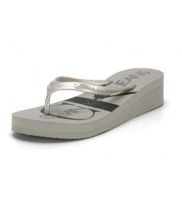 "Calvin Klein Jeans ""RE9856SLV"" Metallic Silver"