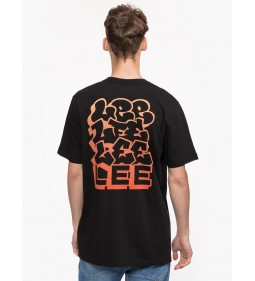 "Lee ""Graphic Tee"" Black"