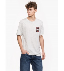 "Lee ""Botanical Tee"" Sharp Grey Mele Plus"
