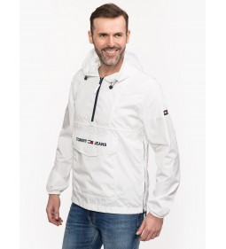 "Tommy Jeans ""Nylon Shell Solid"" White"