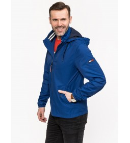 "Tommy Jeans ""Essential Hooded Jacket"" Blue"