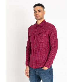 "Lee ""Western Shirt"" Bright Red Procent"