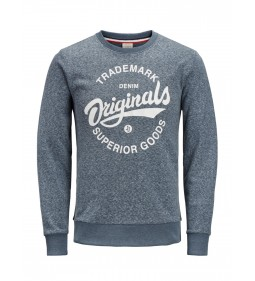 "Jack & Jones""Jorsummertime Sweat"" Total Eclipse"