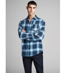 "Jack & Jones ""Jornico Shirt"" Bonnie Blue"