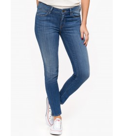 "Lee ""Scarlett Cropped High"" Blue"
