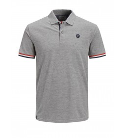 "Jack & Jones ""Jorstan Polo"" Light Grey Melange"