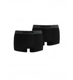 "Levi's ""Boxer 2 Pack"" Black"
