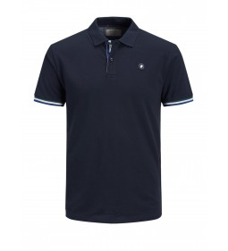 "Jack & Jones ""Jorstan Polo"" Total Eclipse"