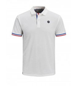 "Jack & Jones ""Jorstan Polo"" Cloud Dancer"