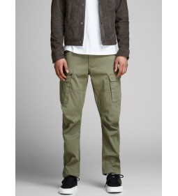 "Jack & Jones ""Idrake Jjchop"" Deep Lichen Green"