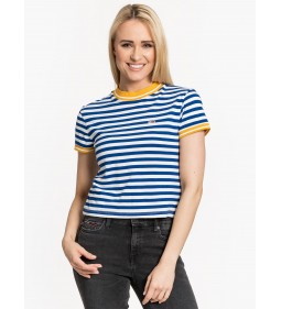 "Tommy Jeans ""Stripe Baby Tee"" Blue"
