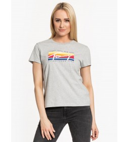 "Tommy Jeans ""Multi Box Signature Tee"" Grey"