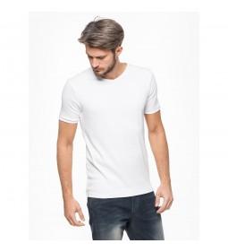 """Silesia Jeans """"Basic M02R VNECK"""" White"""
