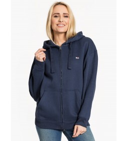 "Tommy Jeans ""Hood Graphic Zipthru"" Blue"