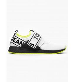 "Tommy Jeans ""Flexi Sneaker"" White"